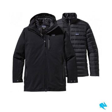 A shell made of durable H2No Performance Standard 2-layer polyester fabric with a waterproof and bre...