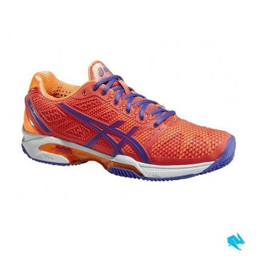 Asics tennis shoes score with their high level of stability and also ensure it's light and easy to p...
