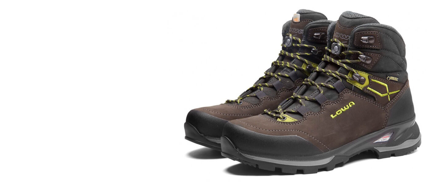 Lowa outdoor shoes for your trips to the mountains