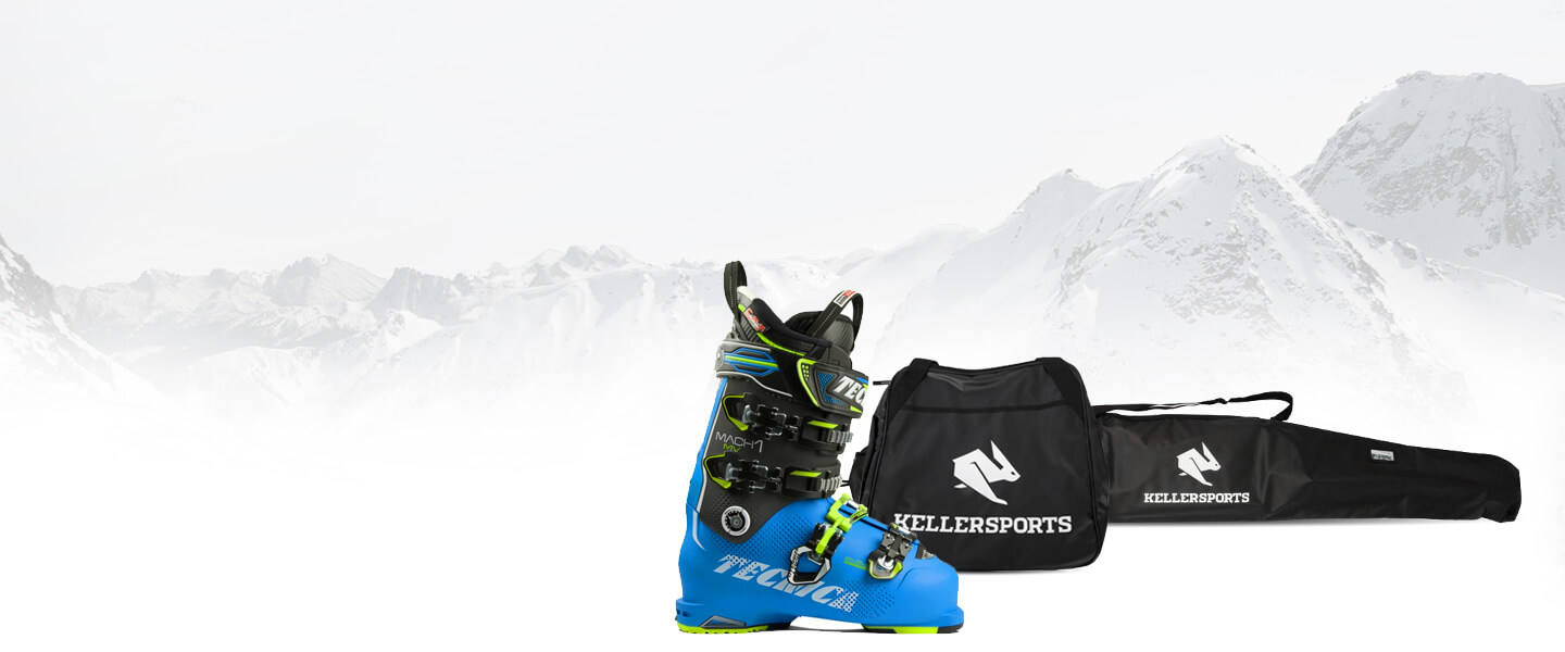 Get free matching bags when you buy skis and ski shoes*