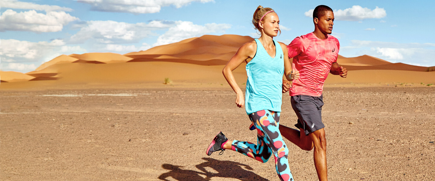 Running clothes from ASICS
