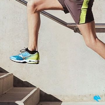 Every single step takes you to the next level @mizunorunning. Discover the best running shoes on kel...