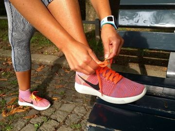 Like a second skin: Running PRO Laura from @run_munich_run tested the @nike LunarEpic Flyknit and wa...