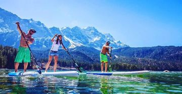 Kellersports goes SUP! SUP stands for S tand U p P addling - Kellersports stands for the latest tren...
