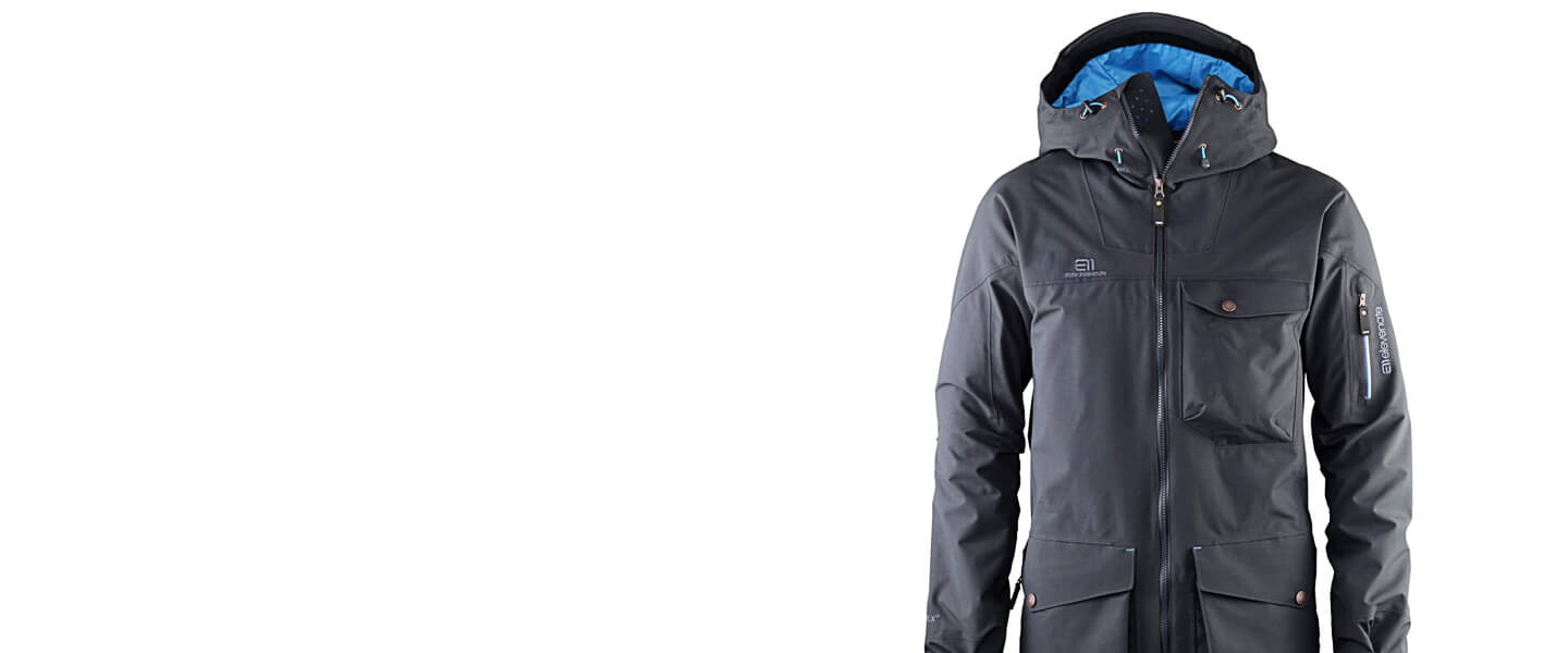 The Backside Parka is exclusively available at Keller Sports