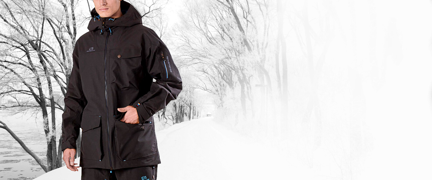 The Backside Parka is exclusively available at Keller Sports. Discover even more freeride clothing from State of Elevenate in our shop