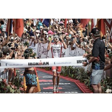 Before winning the Ironman World Championships for the second time after 2015, the awesome triathlet...
