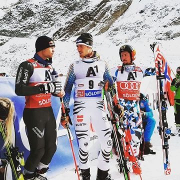 Congratulations @alexispinturault for winning the @fisalpine GS season opener in Soelden ?? 2n...