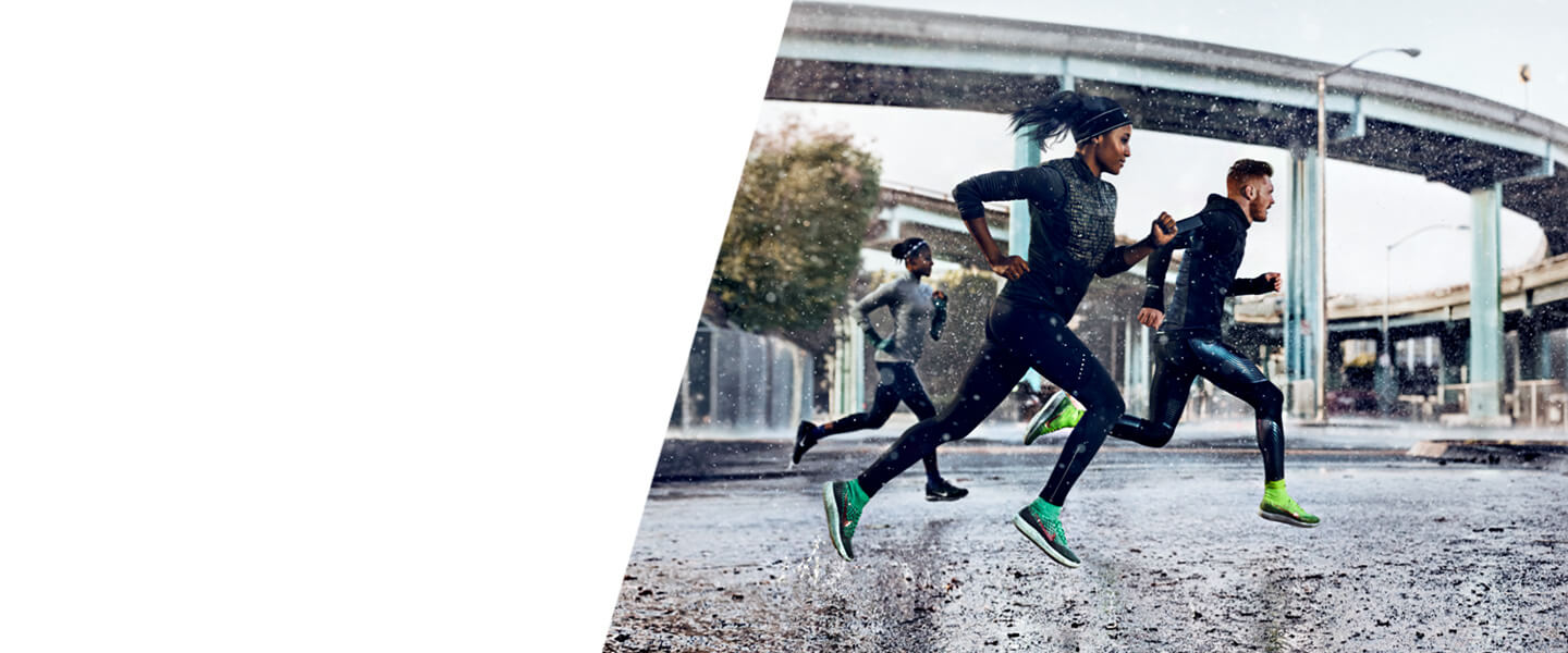 Defy the elements with Nike Shield running shoes and clothes