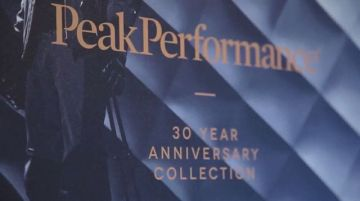 Wonderful, unique and memorable- that's how the @peakperformance 30 years party at the #kellersports...