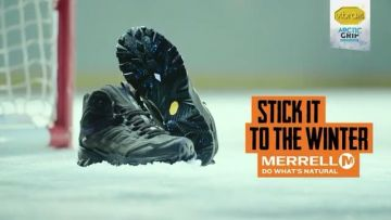 The @merrelloutside Moab ICE Thermo shoes are your perfect partner for snowy, wet, icy or slippery t...