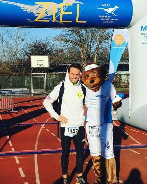 Keller Sports Pro @raphael_mbarek successfully passed the Silvester Run in Munich 2 weeks ago. The f...
