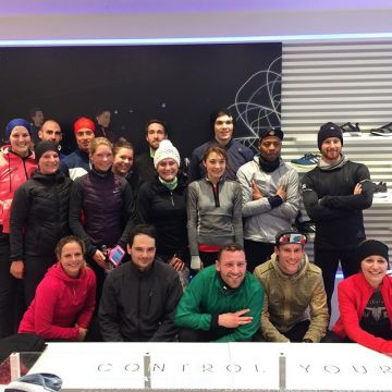 Wednesday the @adidasrunnersde started their training session at our #kellersportsstore Tomorrow 11a...