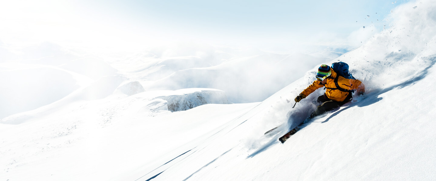 Innovative skis, stylish clothing, practical equipment and much more