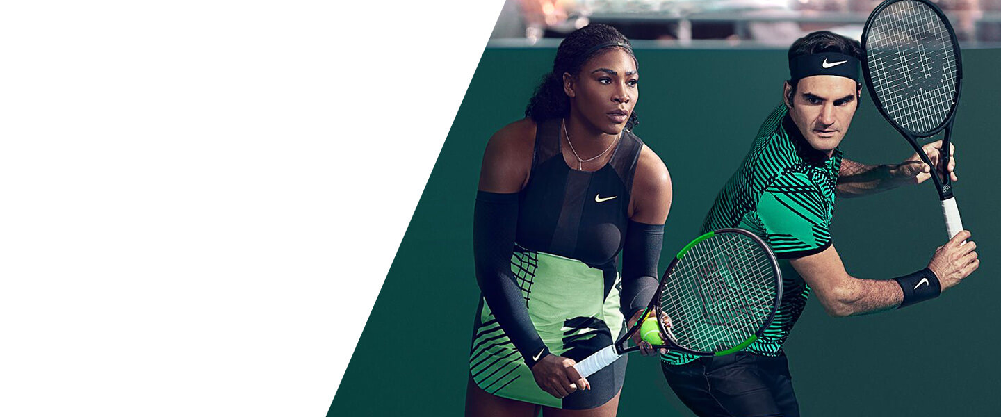 Tennis clothing, shoes and accessories with which you will win the match.