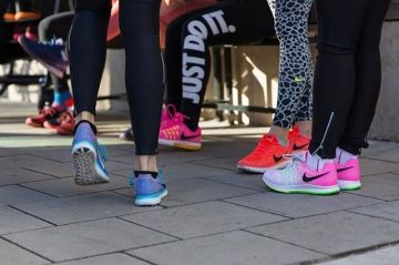 In December our #kellersportsproSophie tested the new @nike zoom elite in collaboration with Olymp...