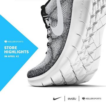 From tomorrow on until 29th April you can buy some cool running products from @nike in our #kellersp...