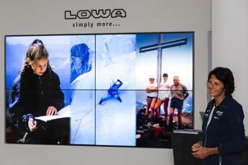 Yesterday @lowa.sportschuhe athlete Gerlinde Kaltenbrunner told a lot of interested listeners in our...
