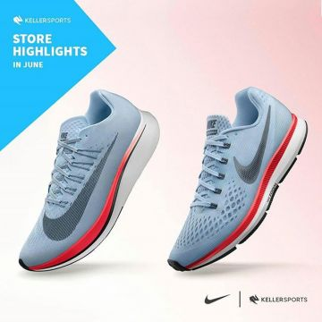 Fast, faster - @nike Zoom Series ? From today on until 24th June you can check out the running sh...