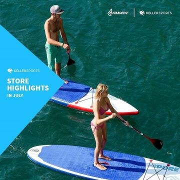 Let's go Stand-Up-Paddling ? Check out the newest @fanaticsup boards at our #kellersportsstore an...