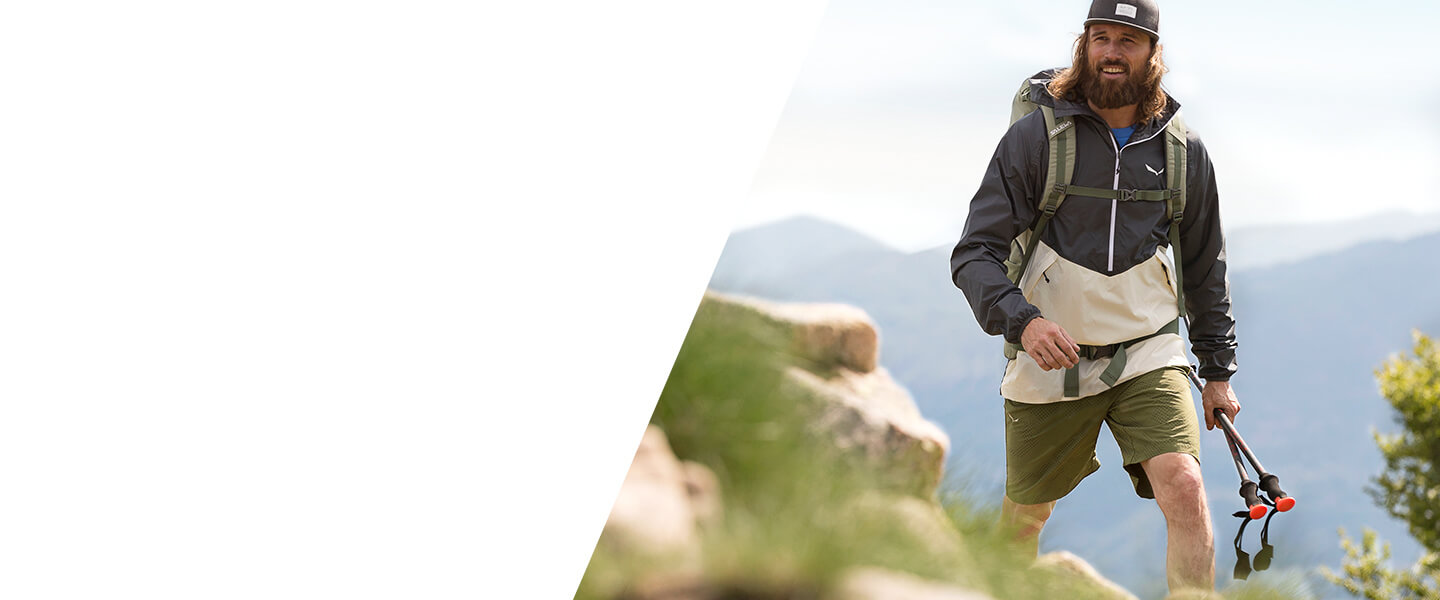 Buy the outdoor highlights of the season - outdoor jackets, outdoor shoes, rucksacks and many more.