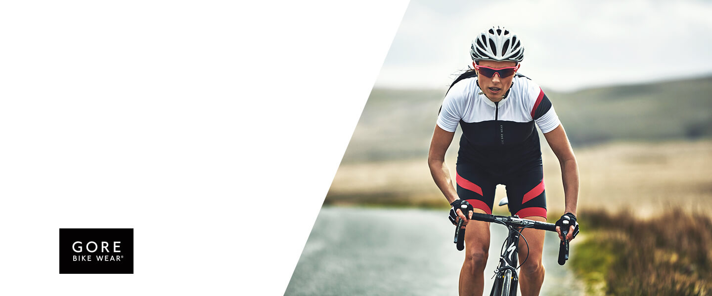 Next time you go cycling, enjoy the benefits of innovative bike clothes from GORE BIKE WEAR®.