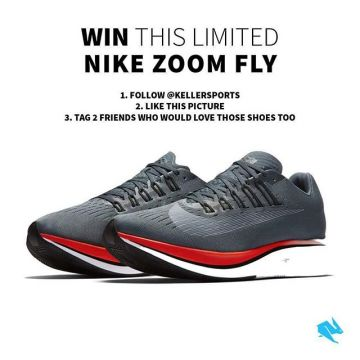 ?Giveaway? Win a pair of strictly limited and super stylish men's @nike Zoom Fly Darkside runn...