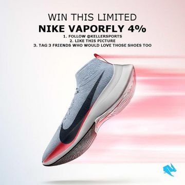 ?Giveaway? Win a pair of strictly limited and super stylish @nike Vaporfly 4% running shoes wo...