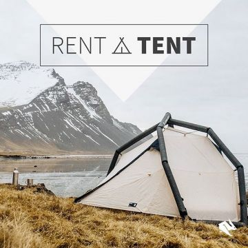 Have you ever slept in a inflatable tent? ? Come and rent a @heimplanet tent in our #kellersports...