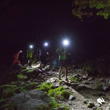 We brought some light into the dark at our #trailrunning event with @lasportivagram and @petzl_offic...