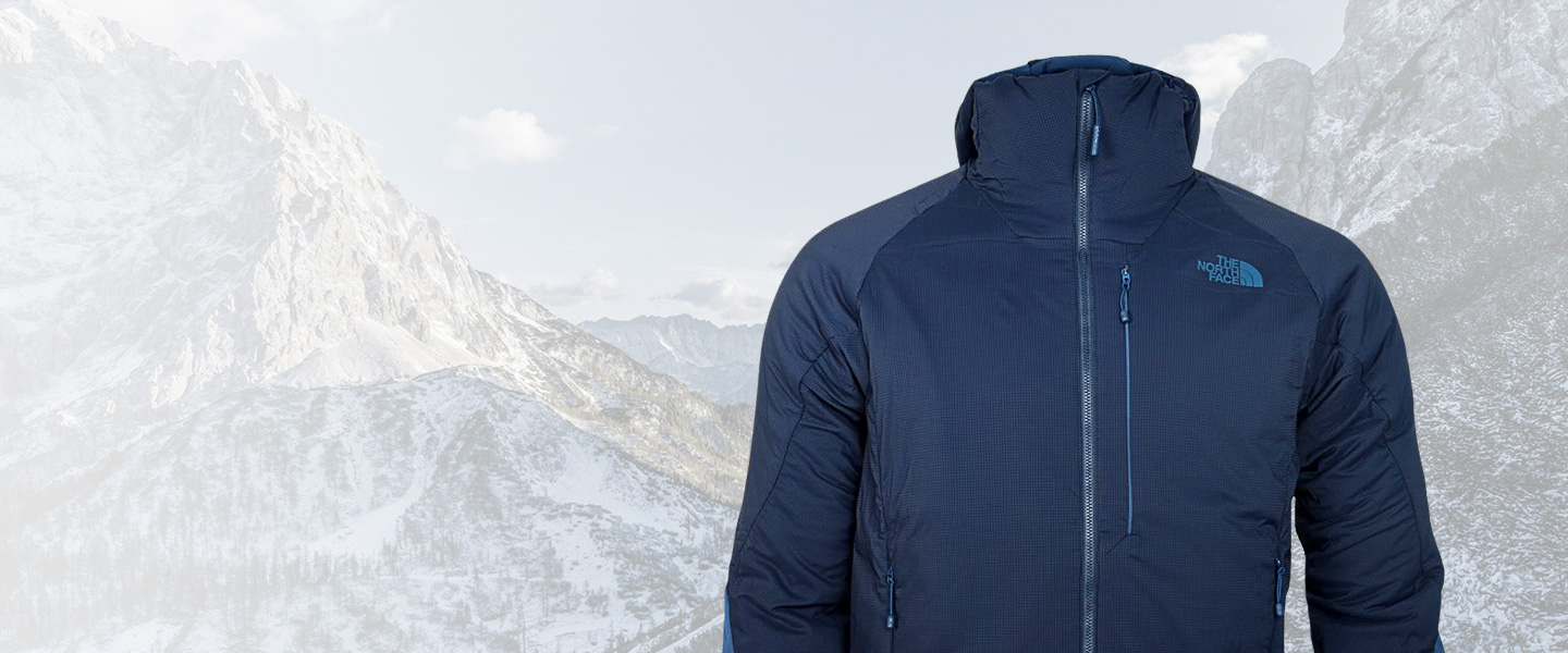 Warm and highly breathable - The North Face Ventrix series shows its strengths during intensive physical challenges.