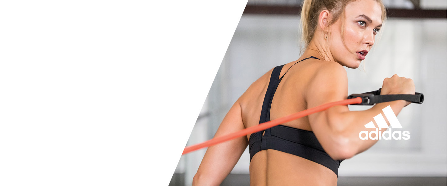 Surpass yourself during every workout with functional women's fitness products from adidas.