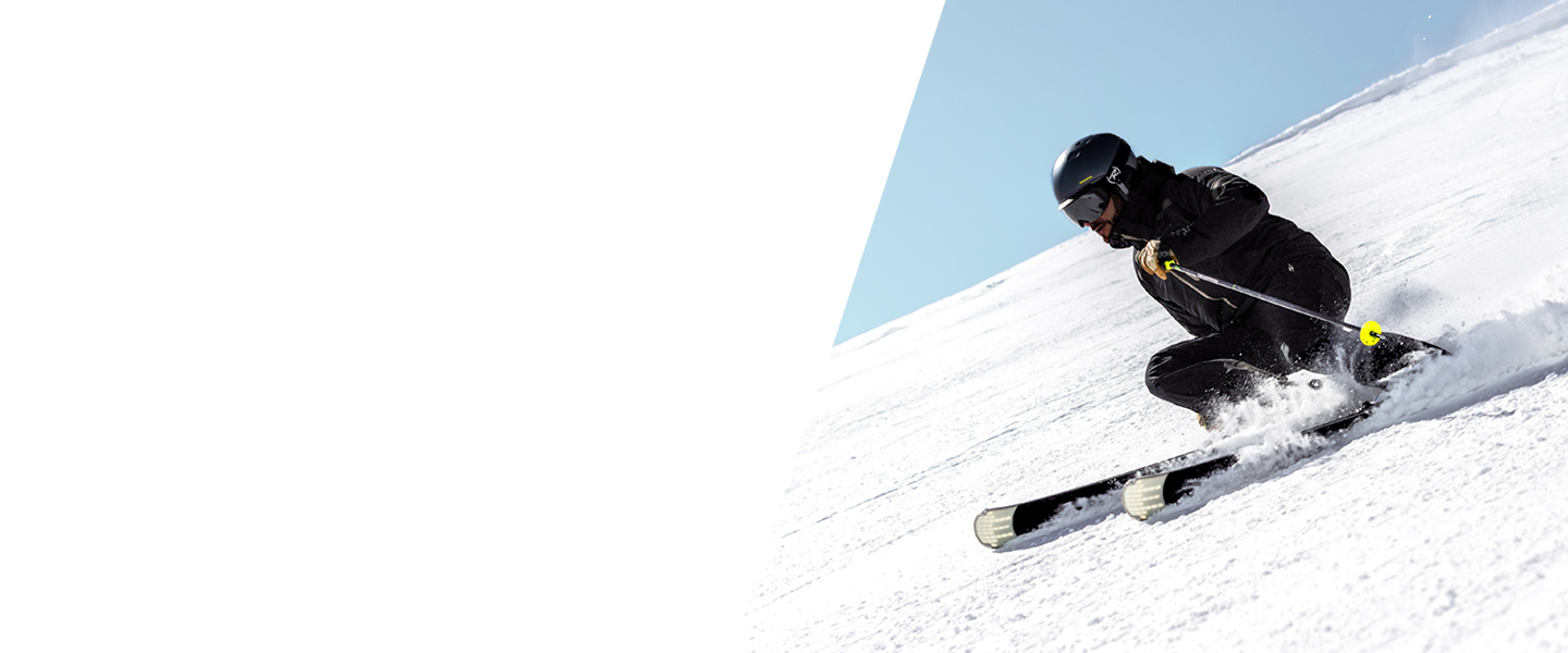 Whether you prefer tight, speedy turns or long, relaxed ones - with functional equipment you'll master every ski resort.