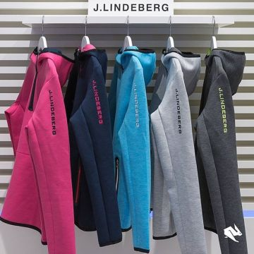 One colour for every taste? The #jlindeberg Logo Tech Sweat womens #hoodie. Have a look in our #ke...