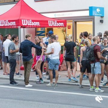 Our #tennis #highlight in 2017 ? #wilson #afterwork #party #community #challenge #kellersportssto...