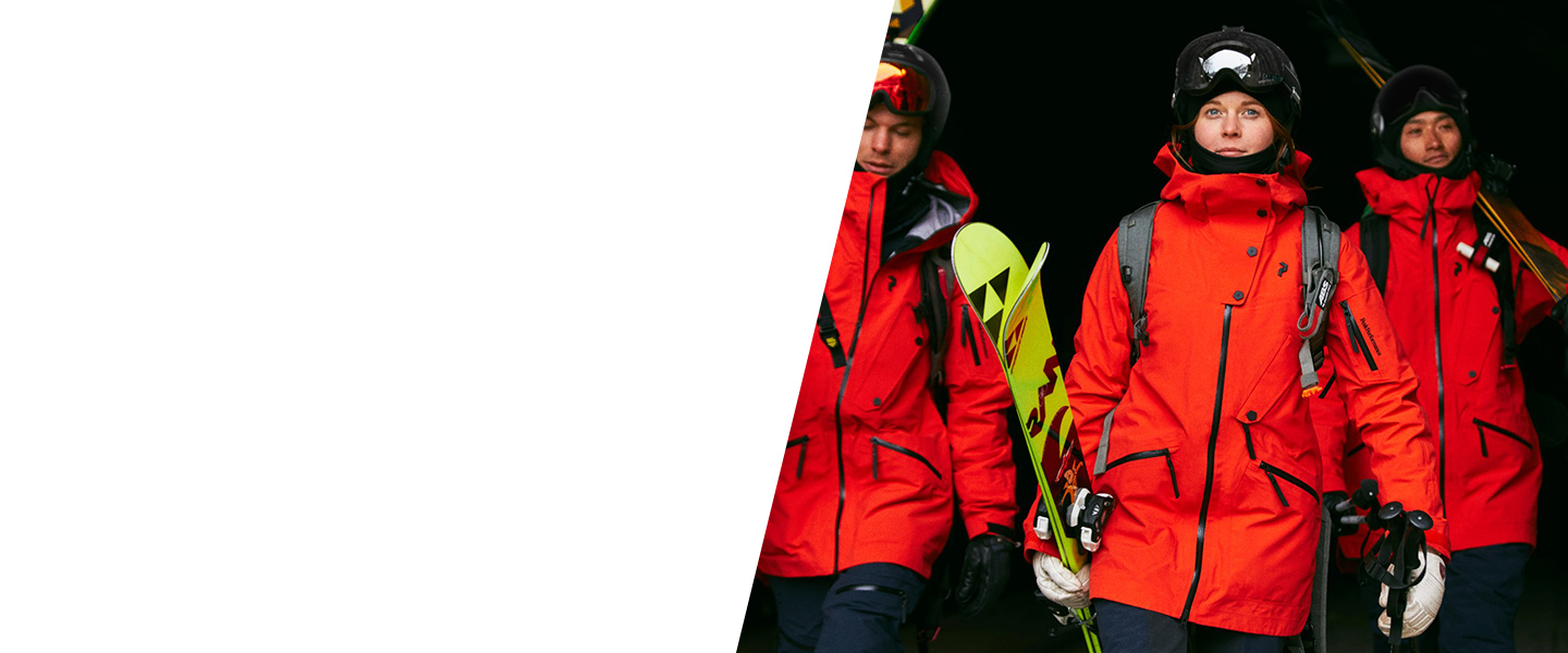 Winter sports clothing by Peak Performance offers top-quality materials and functional properties, so you're free to fully enjoy every moment out in the snow.