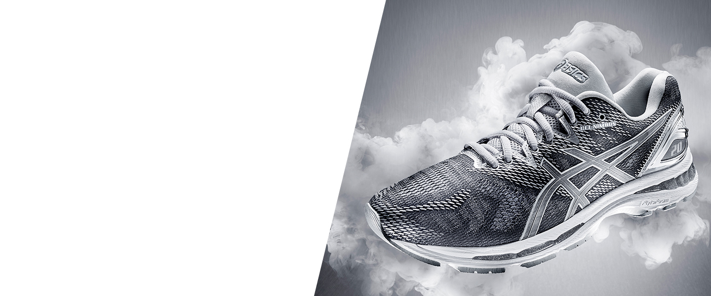 Experience smooth and comfortable long-distance runs with the GEL-Nimbus by ASICS.