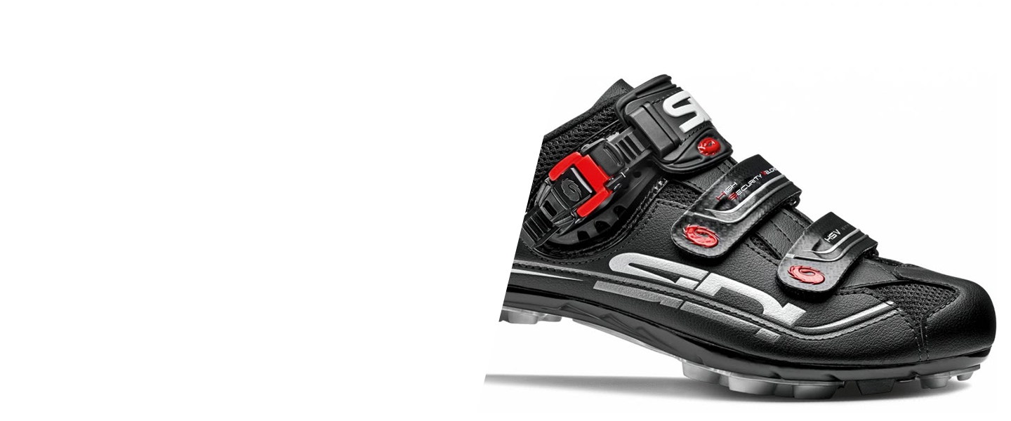 Road bike and MTB shoes by traditional brand Sidi will help you put power to the pedal and master every slope.