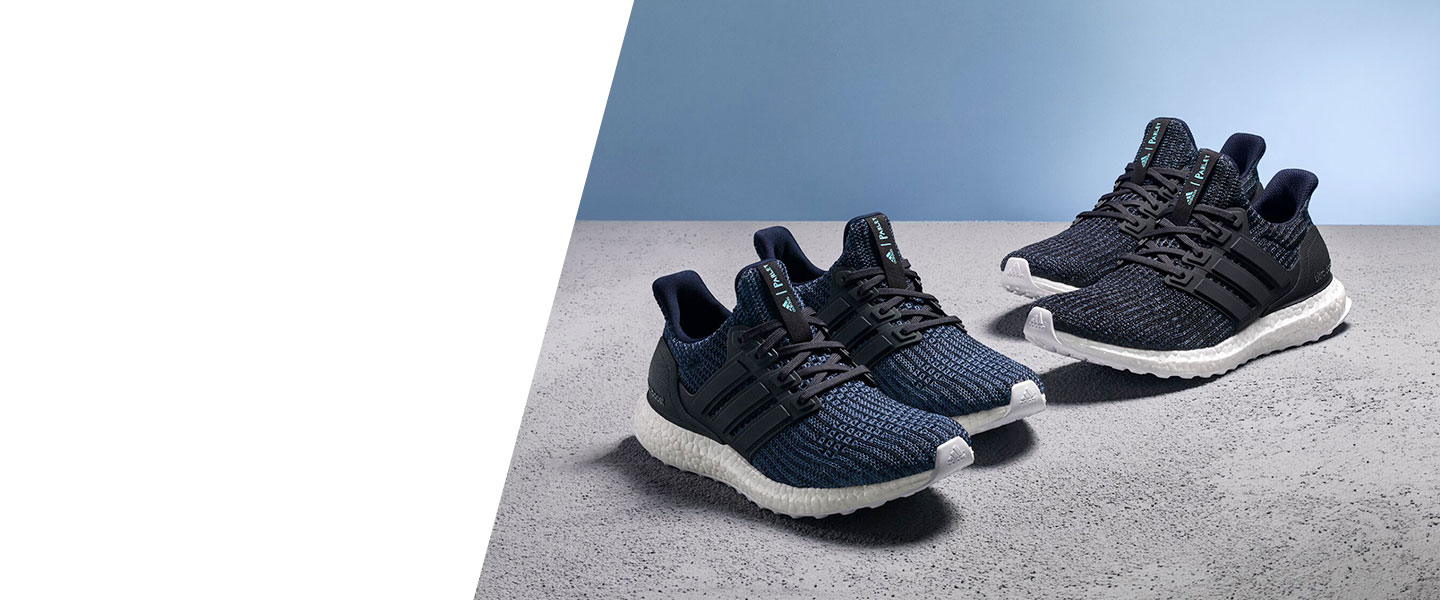 Wear adidas Parley and help reduce the amount of plastic waste that ends up in our oceans.
