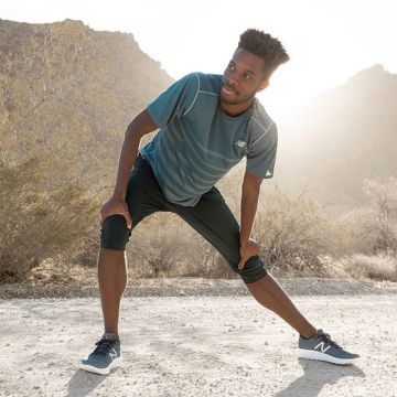 For a smoother and more natural run. @newbalance #FreshFoam #Beacon...