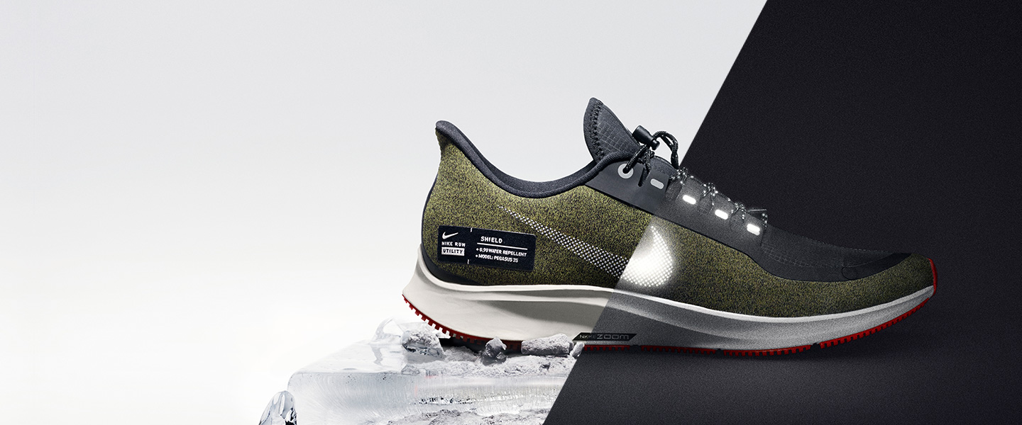 With the Nike Run Utility Pack, the cold, the rain and the dark will now become the perfect conditions for your run.