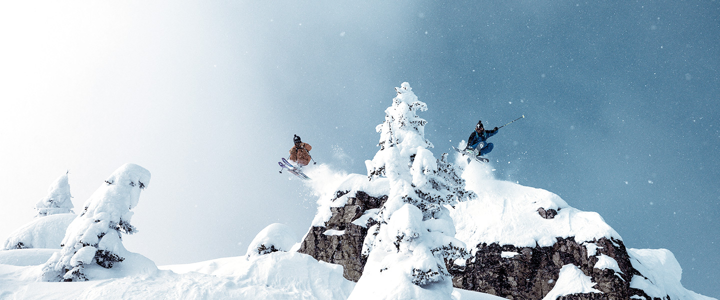 Wherever you ski this winter, Peak Performance kits you out for new heights and distances.