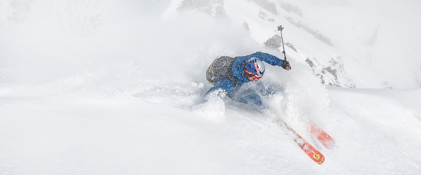 Ski clothes and safety equipment by Mammut - stay safe while pushing your limits.