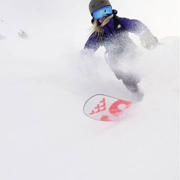 The freeride feeling. #thenorthface #steepseries...