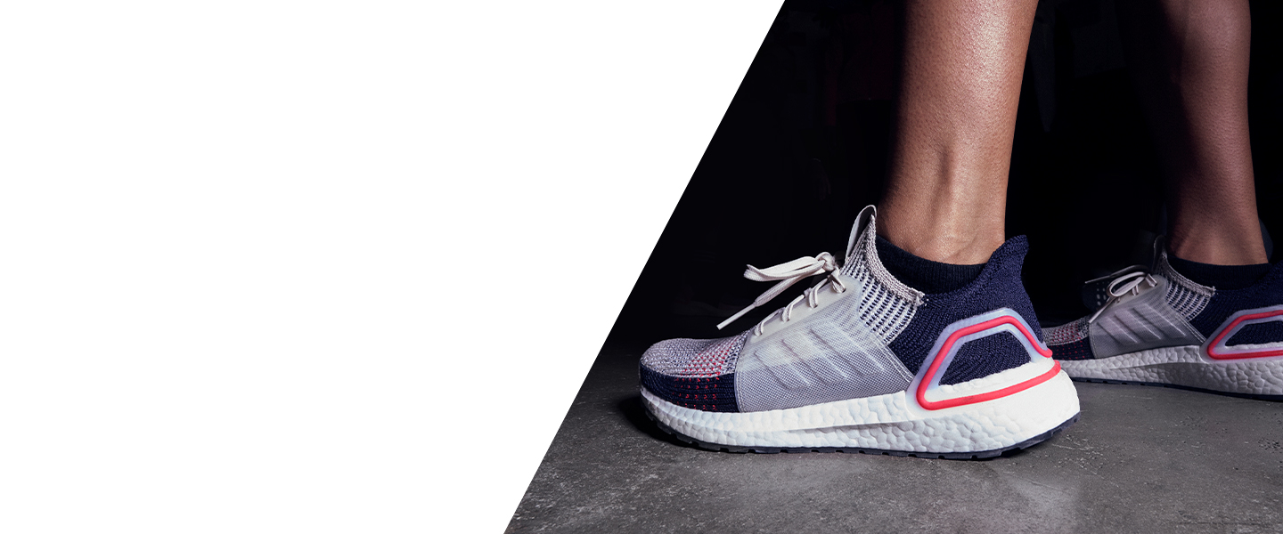 Seamless comfort and boundless energy: experience sophisticated technology in every stride with the adidas Ultraboost 19 - the latest colourways will be available soon!