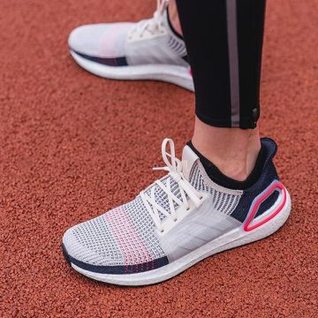 Favored by the pros: the @adidas Ultraboost 19, guaranteed to up your running game. Whether you're a...