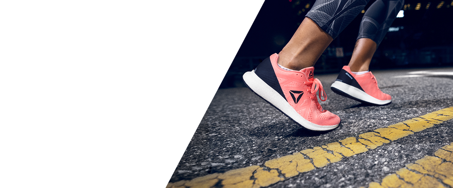 Ultra-light and highly reactive: the Reebok Floatride was made for fast runs and great challenges.