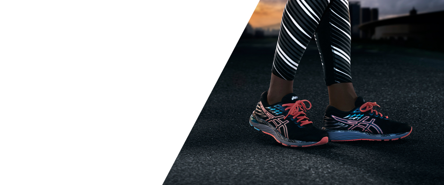 New colours, reflective elements, tried-and-tested technologies - discover 4 of ASICS' most famous running shoe models in a new Lite-Show edition.