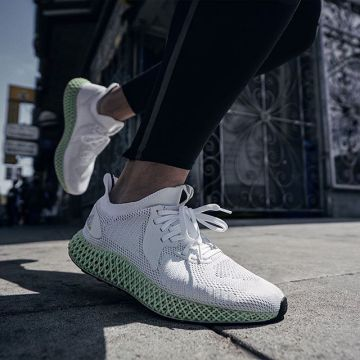 Anatomical fit & targeted support with the new adidas alphaedge 4D. Swipe for having a closer look o...
