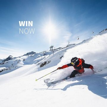 Freeride City Innsbruck: Win an exclusive Powder-Camp? ? 4 star hotel, personal guide, powder gu...